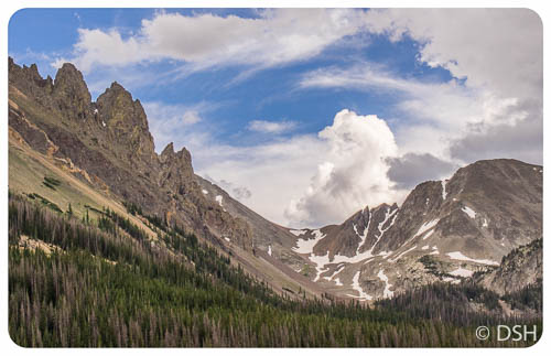 Clouds and crags