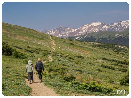 Ute Trail - looking West