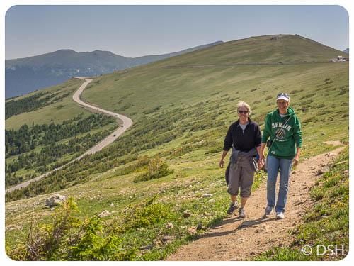 Ute Trail - looking east
